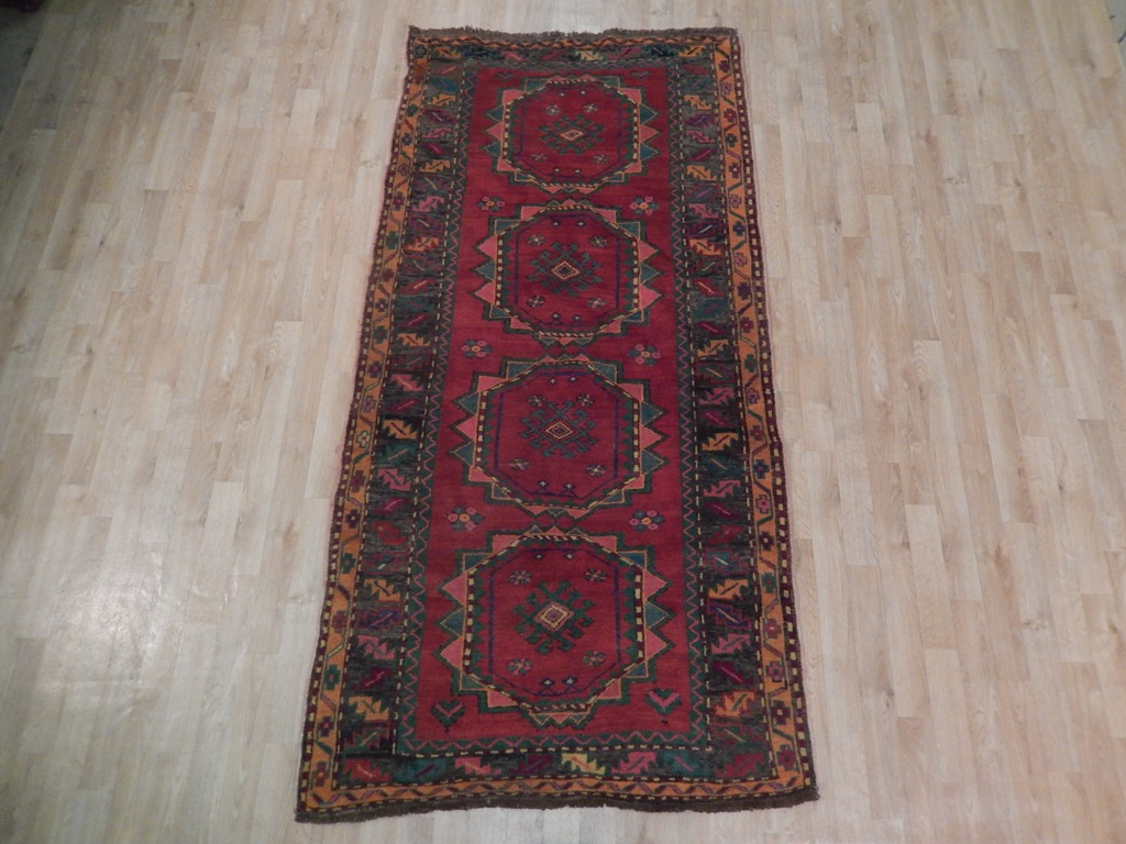 Traditional Antique Exclusive Hand Woven 4x8 Caucasian
