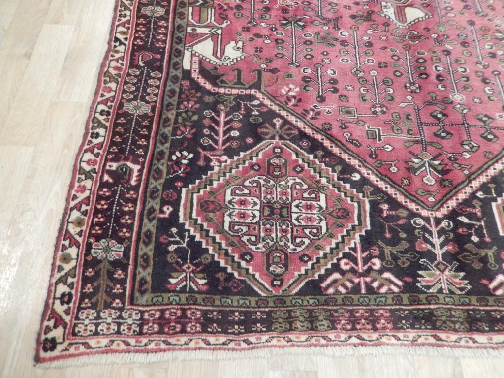 Shiraz Rug Stylistic Decoration Handmade Rug 5 X 8