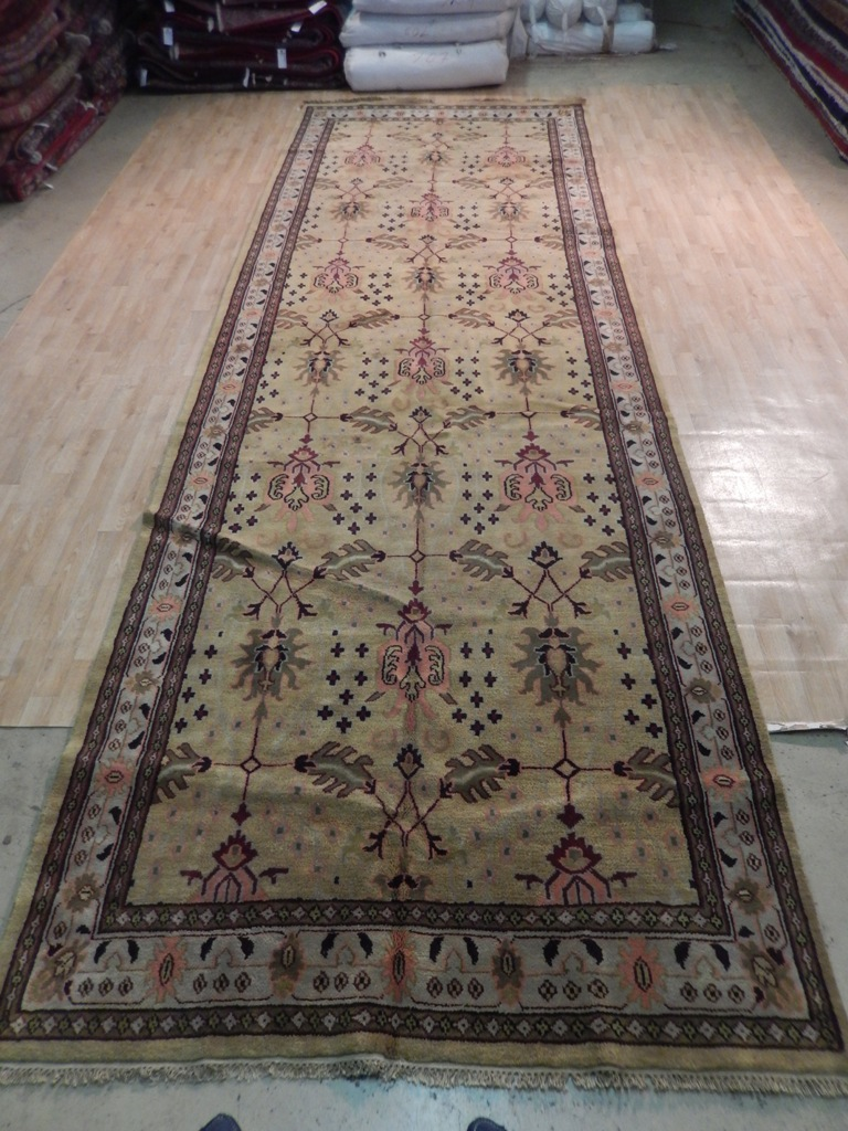 Custom Rare Size 6x18 Gallery Runner William Morris Famous