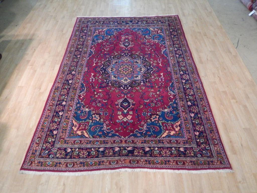 6' x 10' Hand Knotted  Persian Tabriz Rug