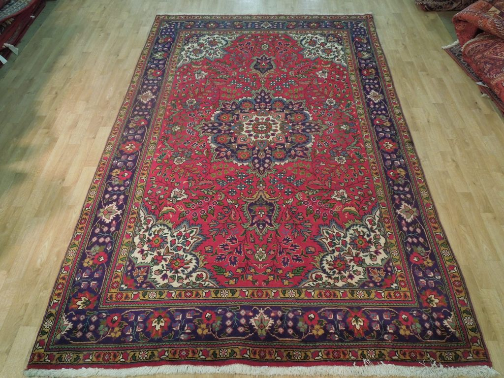 7x10 persian tabriz rug hand knotted area rug wool on for How long should carpet last