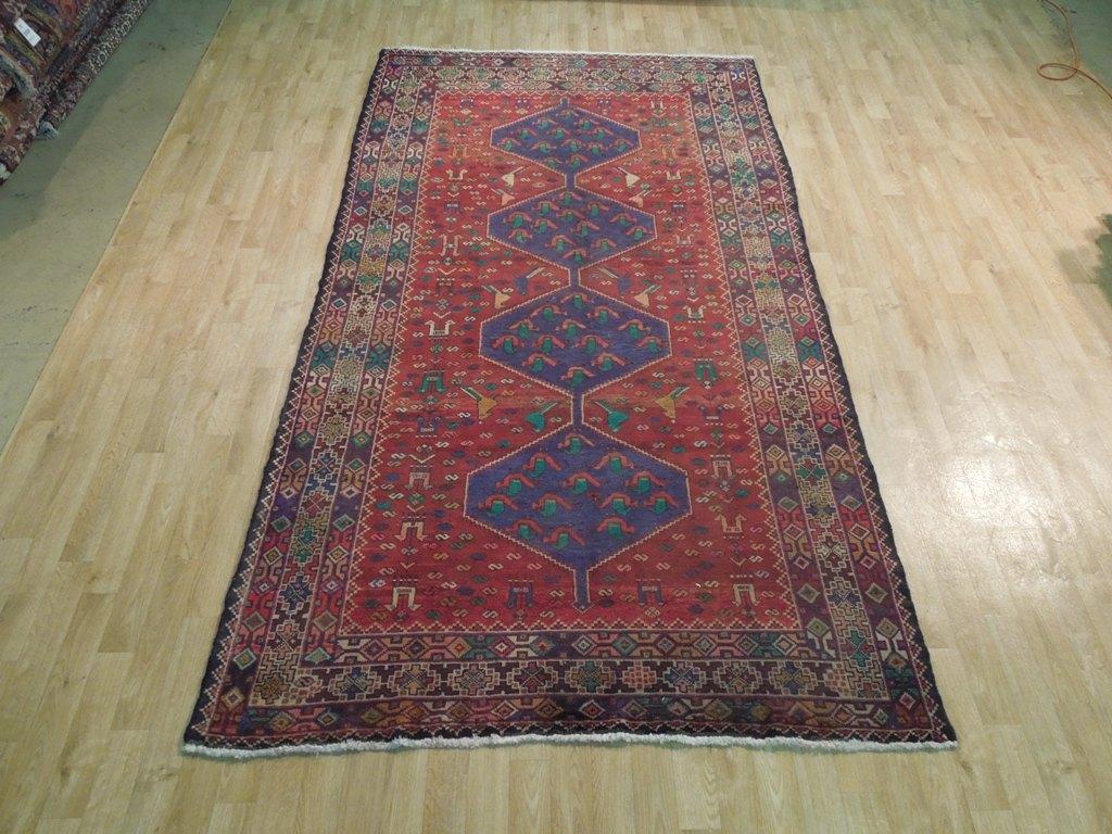 Old 5x9 Persian Runner Village Weavers Klardast Rug