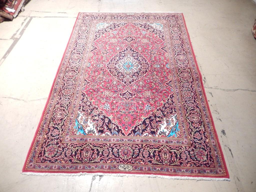 classic design fine hand knotted 5x7 rug persian oriental kashan sale ebay. Black Bedroom Furniture Sets. Home Design Ideas