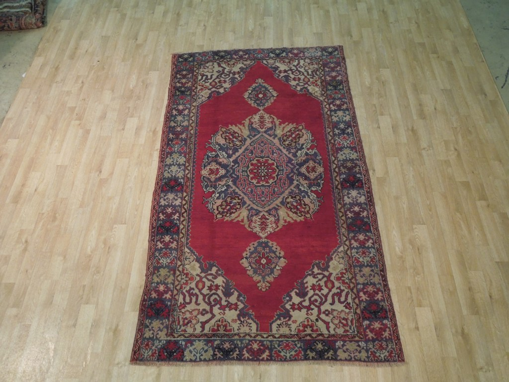 Persian Rug Traditional Handmade 5 X 8 Original Area Rug