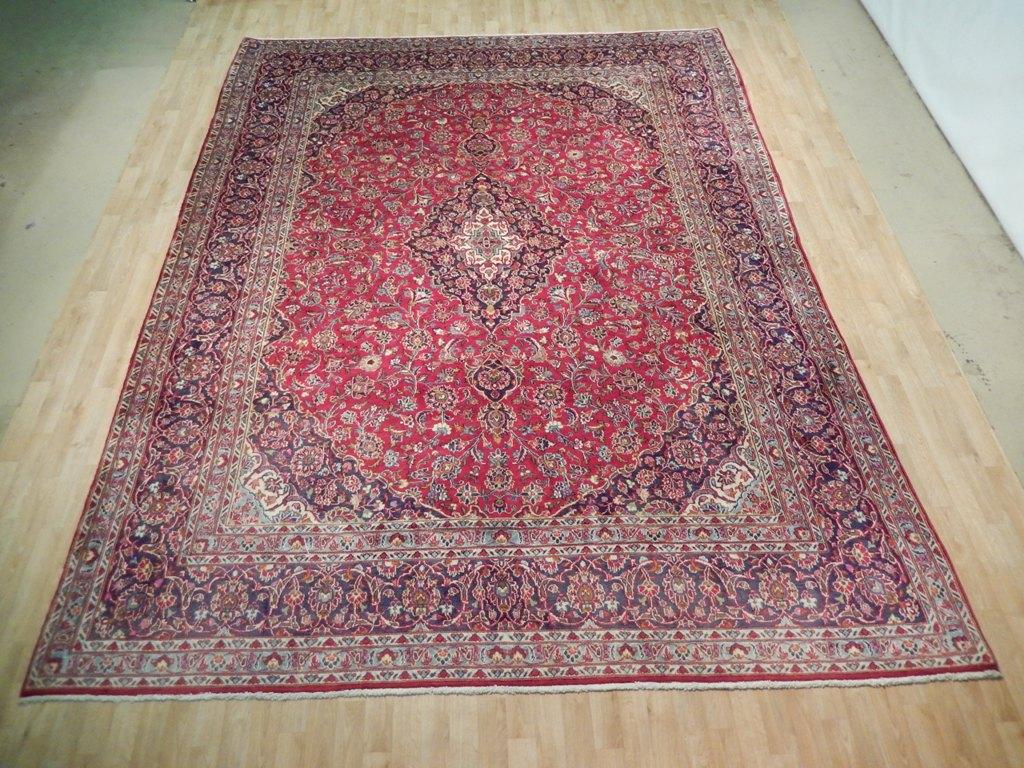 kashan rugs for sale online cheap hand woven 10 39 x 13 39 genuine persian rug ebay. Black Bedroom Furniture Sets. Home Design Ideas