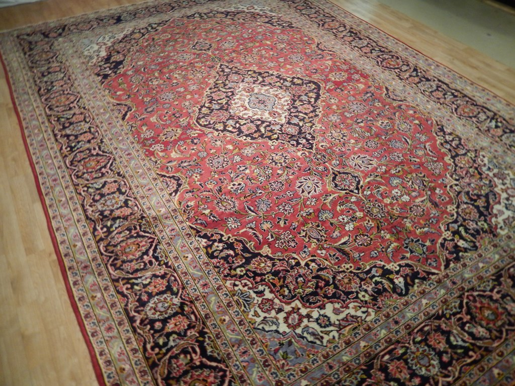 Oriental hand knotted 10 39 x 13 39 persian rugs discount for Cheap carpets and rugs