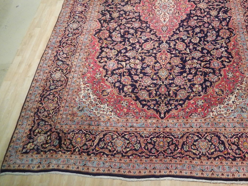 Kashan Rug Rugs For Sale Online Handmade 10 X 15 Persian