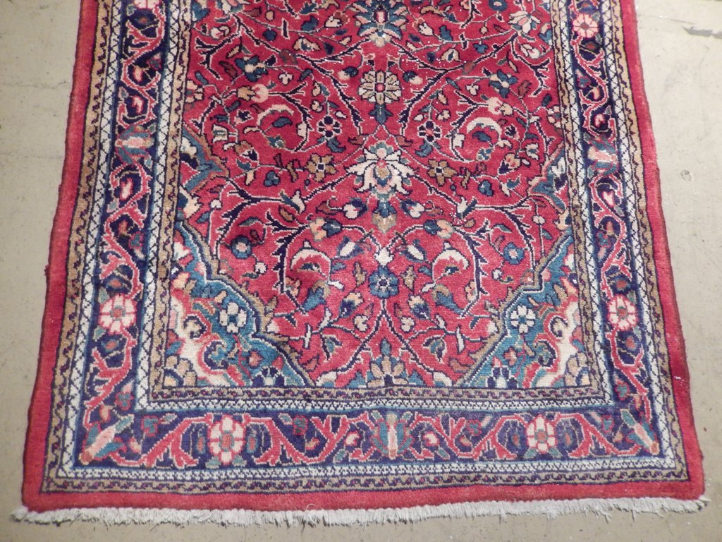 8x10 Traditional Sarouk Smooth Feel Rugs Dicount Sale Rug Handmade