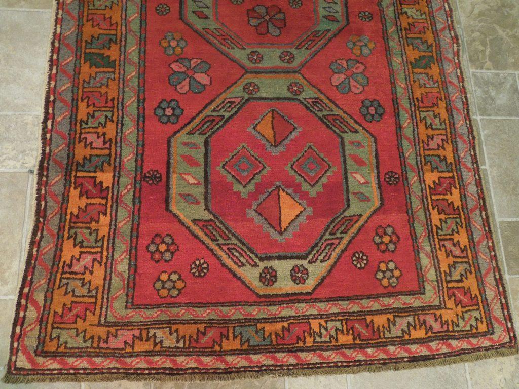 Oriental Hand Knotted Rug 4x8 Carpet Georgians Kazak