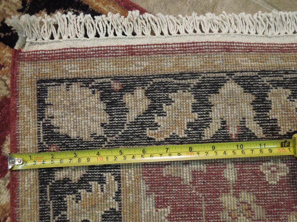Red Black Handmade 3 X 8 Chobi Runner Antique Design Rug
