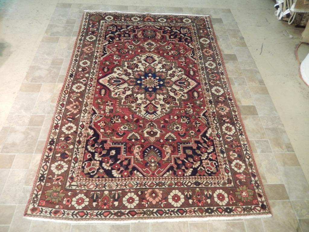 Burgundy 7 39 X 10 39 Handmade Bakhtiari Rug Persian High