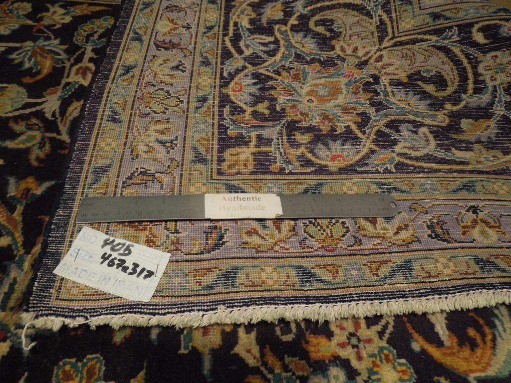 original rugs for sale rug handmade 10 39 x 15 39 semi antique persian kashan ebay. Black Bedroom Furniture Sets. Home Design Ideas