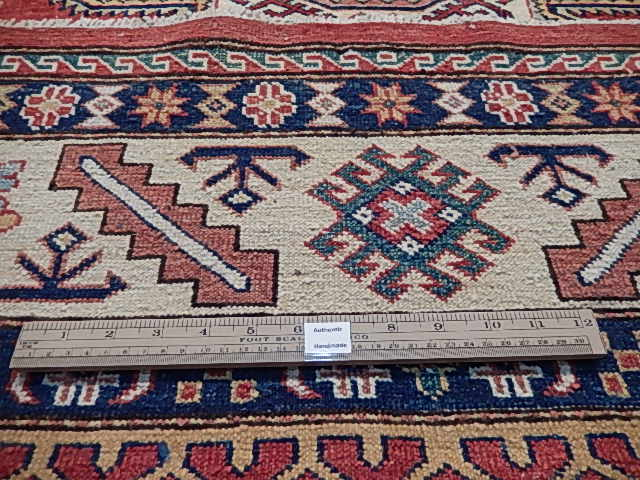 Discounted Rugs Handmade Area Rug 6x7 Super Kazak