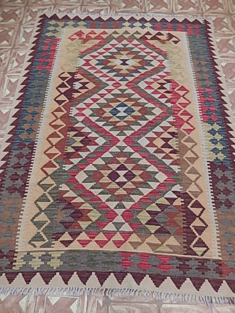 Authentic HANDMADE AREA RUG