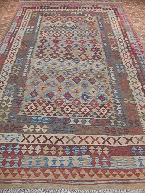 Pueblo Inspired Kilim Rugs Sale Plain Weave Rug 8 X 11 Ebay