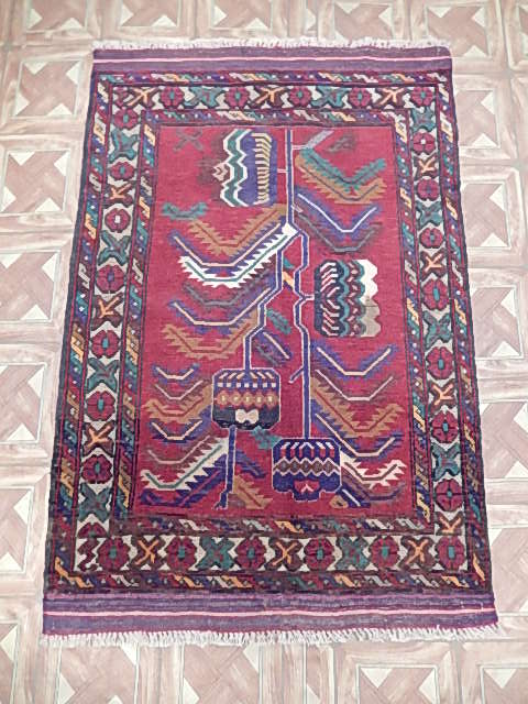 Wool oriental tribal rug cheap rugs for sale 100 made by for Cheap persian rugs nyc