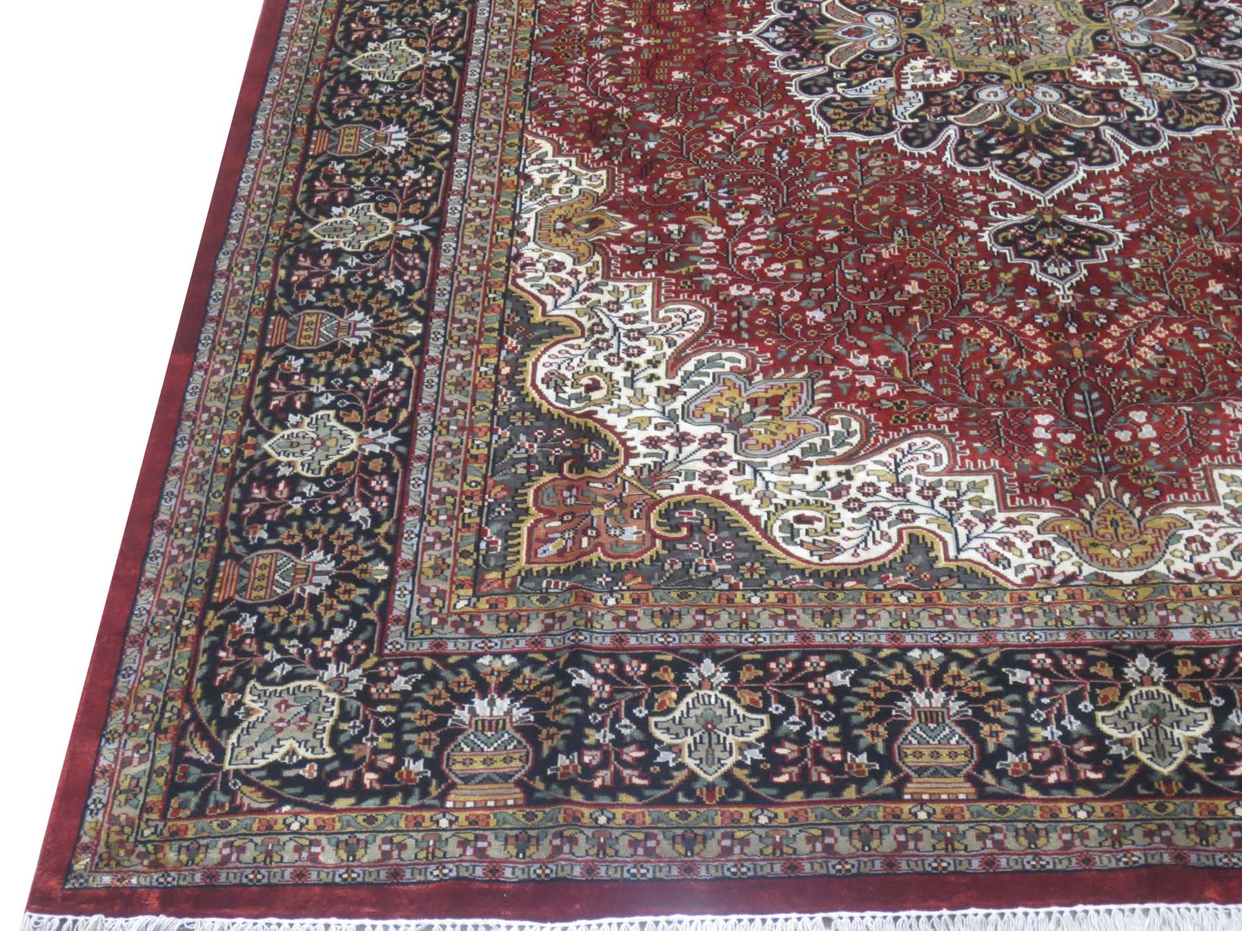 Srinagar Rugs Sale Hand Knotted 8 X 11 North Indian