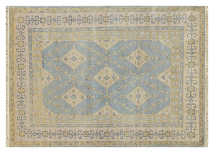 Dining Room Or Kitchen Made By Hand New Area Rug 6x9 Ft