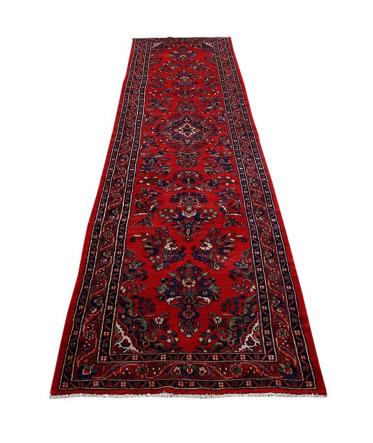 Persian Hamadan Nomadic Organic Wool Made By Hand Rug 4x17