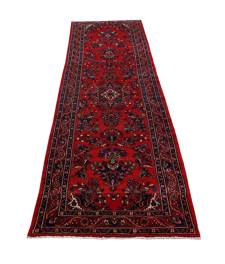 Hamadan Original Gift Carpet Handmade Rug 4' X 17' Persian