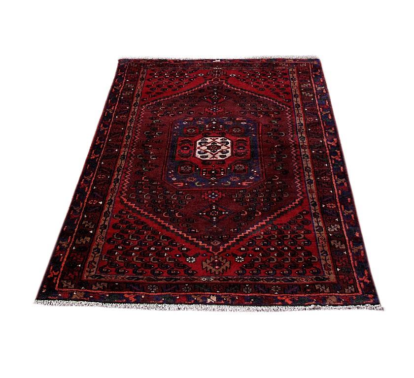 Size 2 7 X6 2 Agra Rug India: Rugs Discount Prices Handmade Rug 4' X 7' Persian Kurd Bijar