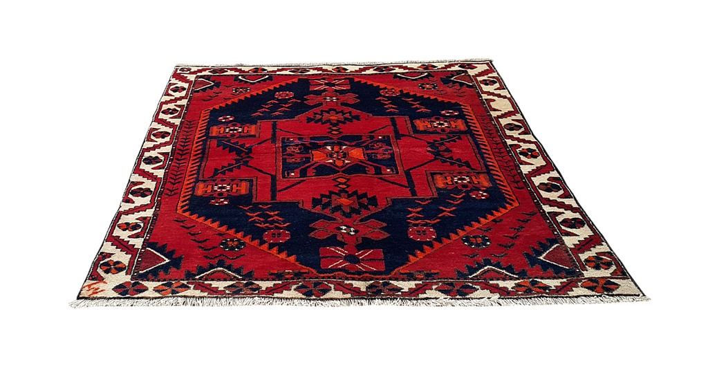 Cheap rugs online handmade rug 5x7 persian bakhtiari for Cheap rugs online