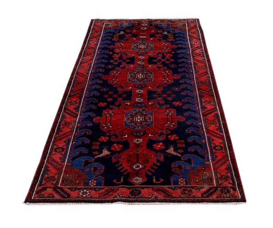 5x8 Hamadan Authentic Rugs Deals Direct Handmade Persian: Hamadan Zanjan Organic Wool Large Room Made By Hand Rug 4