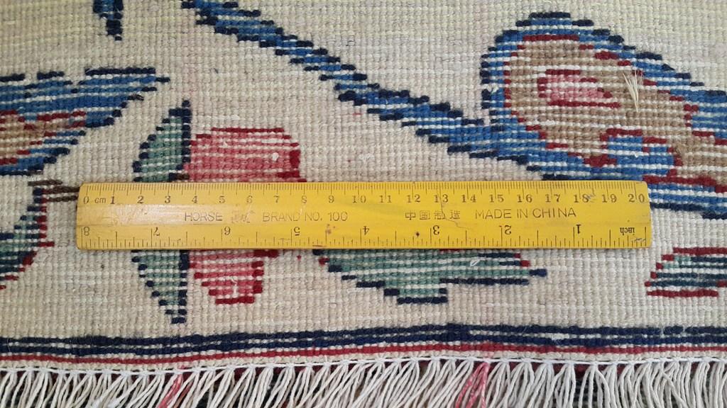 Persian Mashad Carpet Vestibule Handmade Rug 7x13 Ebay