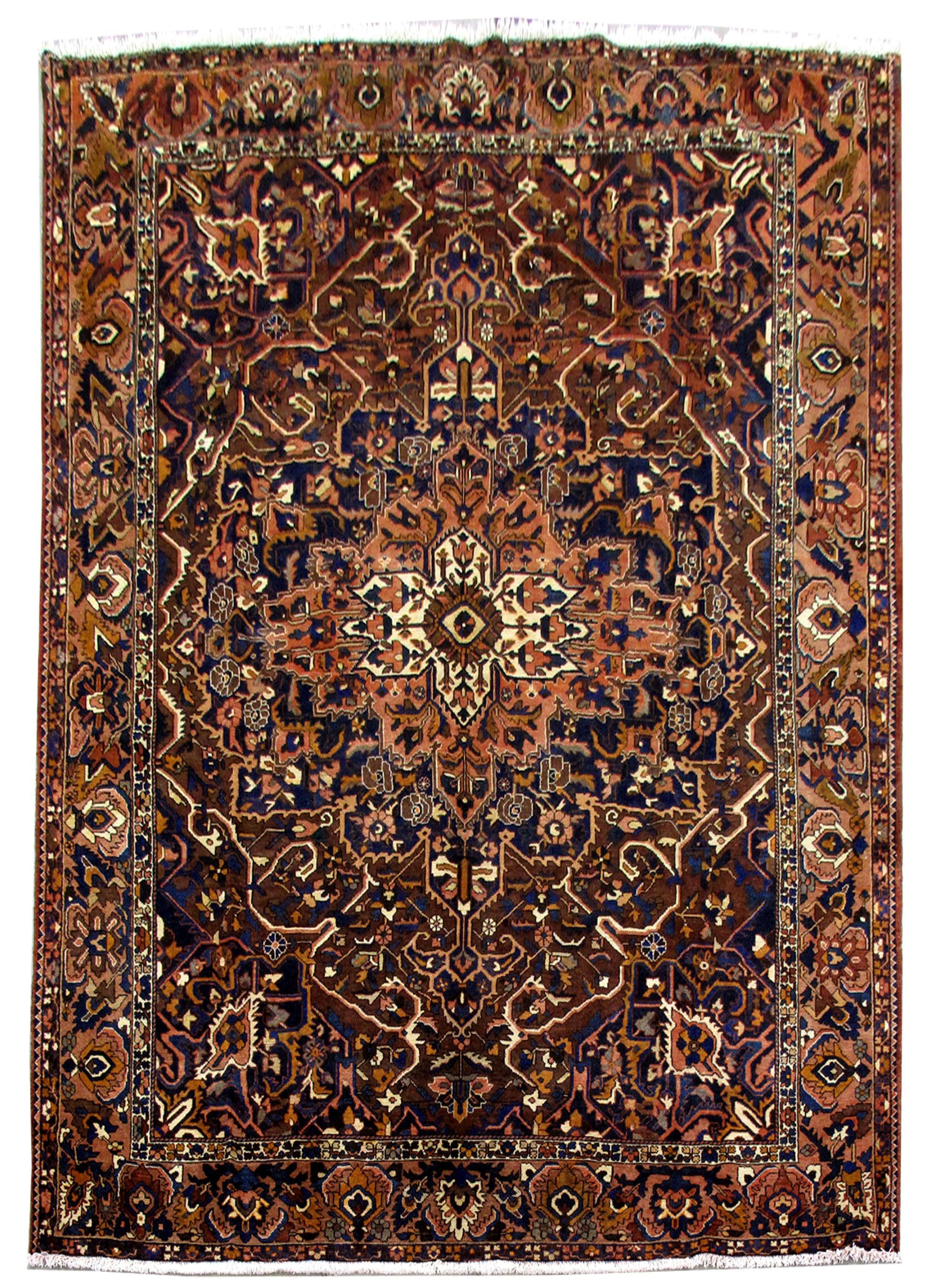 10x12 bakhtiari oriental made by hand persian wool rug ebay. Black Bedroom Furniture Sets. Home Design Ideas