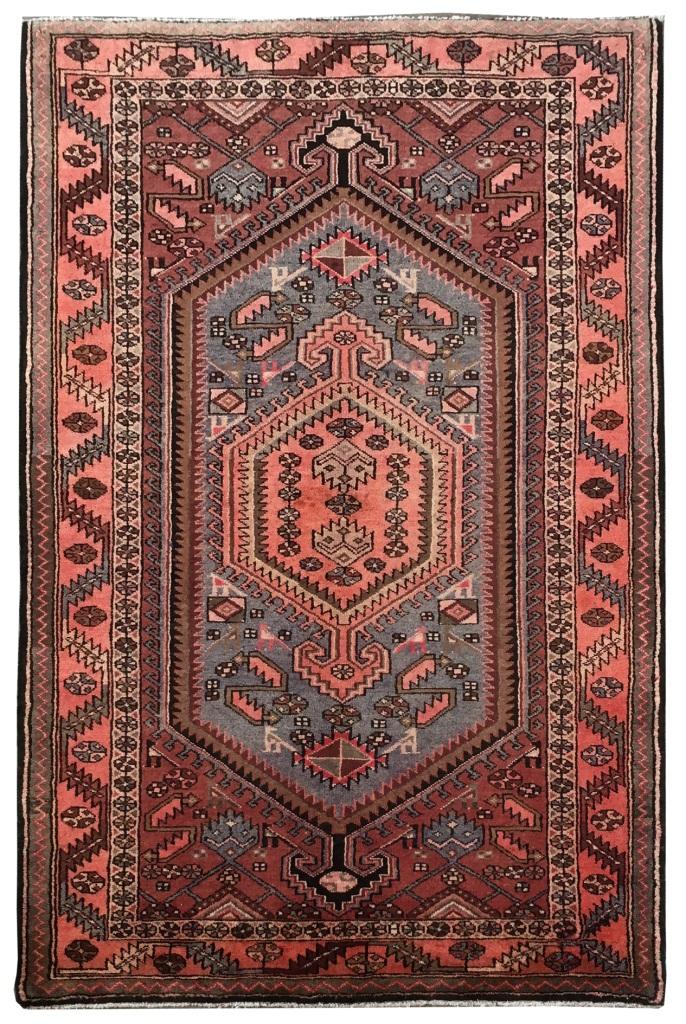 Image Is Loading Western Iran Handmade 4x7 Zanjan Persian Wool Throw