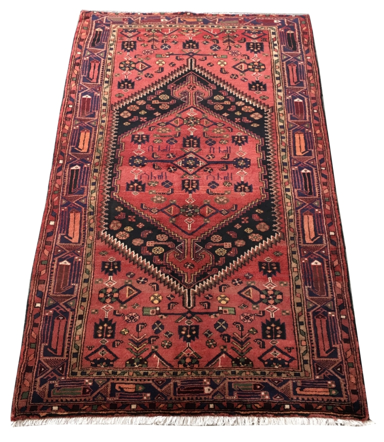 5x8 Hamadan Authentic Rugs Deals Direct Handmade Persian: 5' X 8' Zanjan Persian (55x91 In) Hand-Knotted Artistic