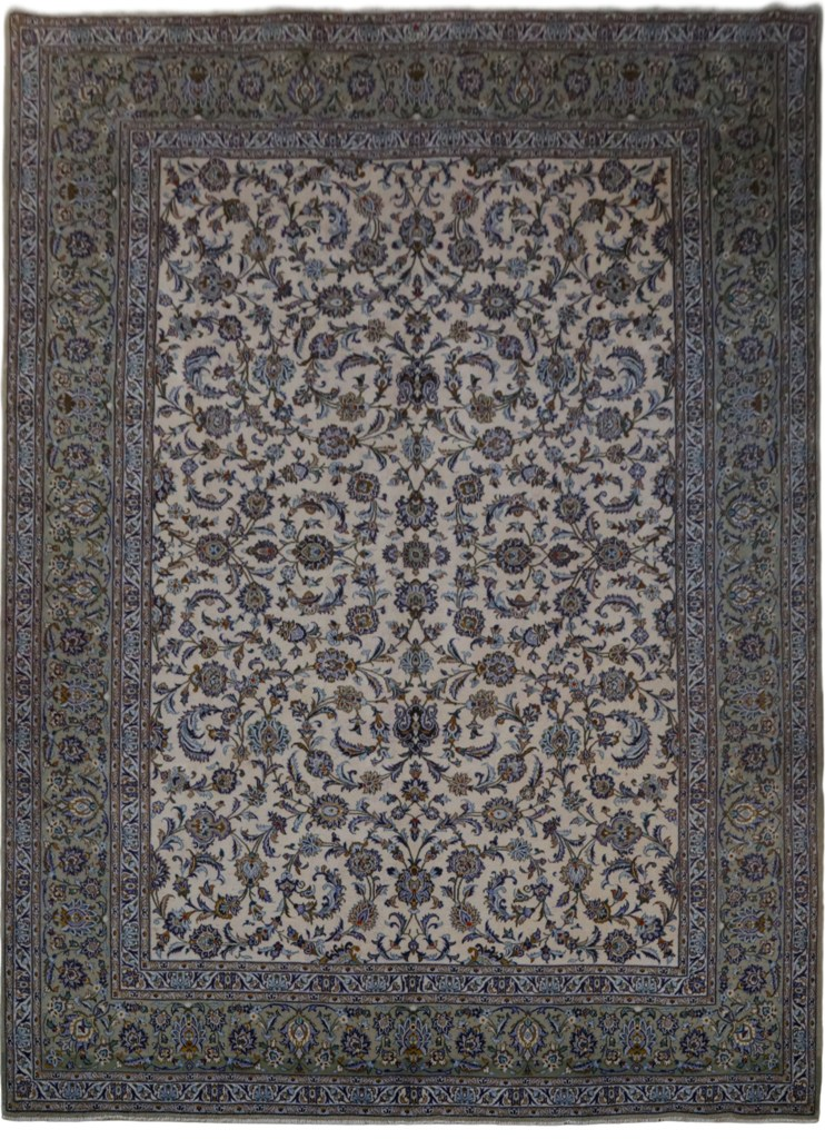 Image Is Loading Persian Kashan Lowest Price Area Rugs Fl Ivory