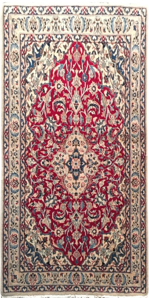 Details About 3 X 4 Wool Rug Handmade Persian Silk Nain