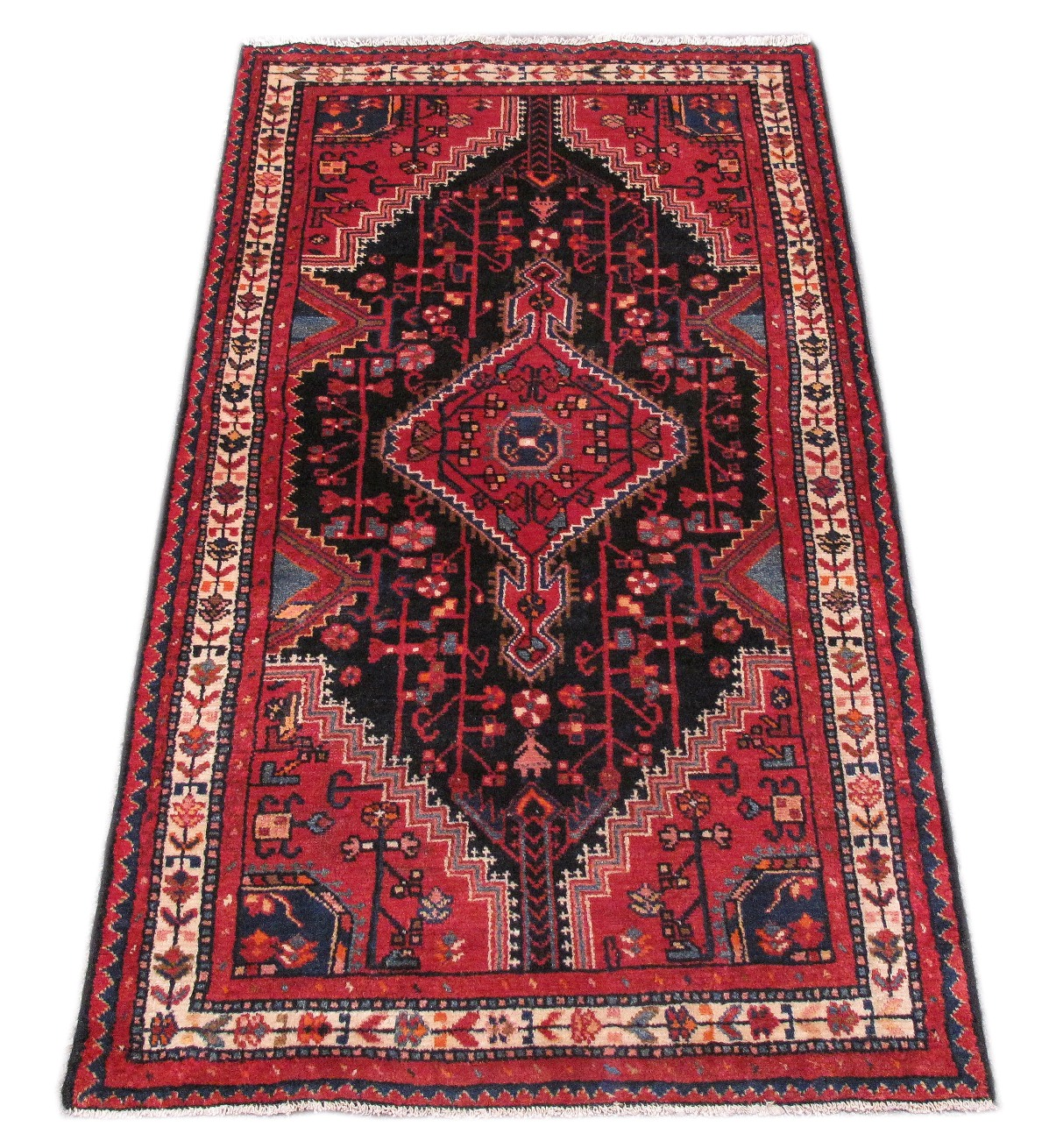 3 X 6 Persian Rug Low Price Rugs Hand Knotted Pre Owned