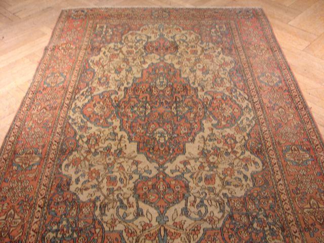 5x7 authentic antique sarouk farahan rug