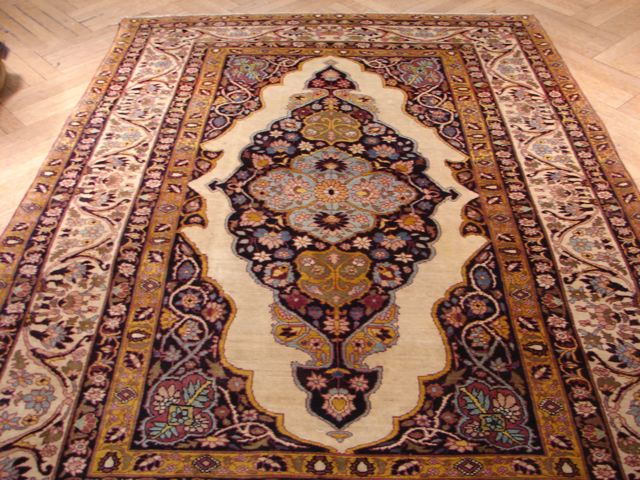 5x7 antique persian kermanshah rug iran 1900s ebay. Black Bedroom Furniture Sets. Home Design Ideas