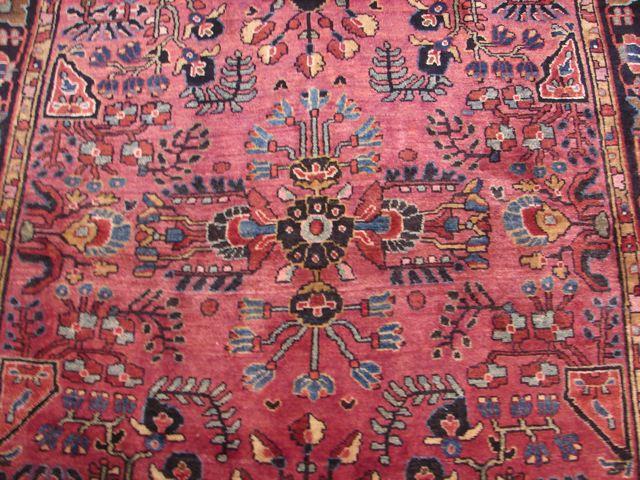 3x5 Original Antique Persian Sarouk Rug 1930 S Ebay