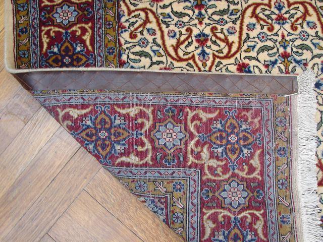 semi antique persian 5x7 esfahan rug ebay. Black Bedroom Furniture Sets. Home Design Ideas