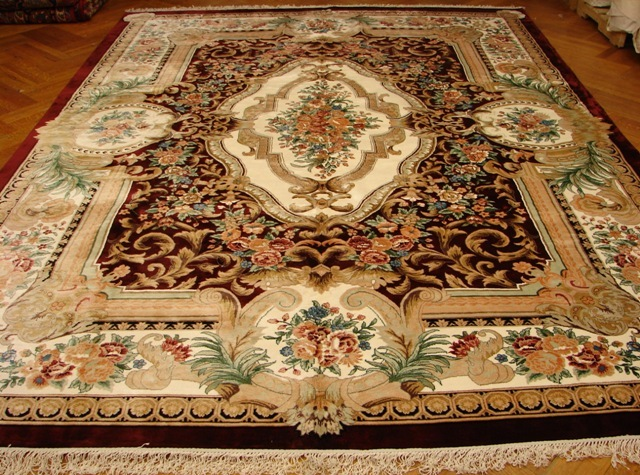 Main Picture of this handmade area rug