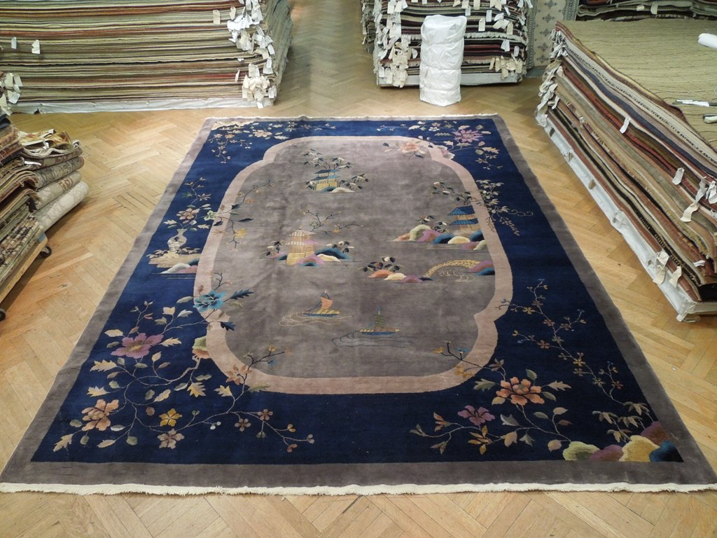Art Deco Chinese 10x13 Rug Antique Beauty Ebay