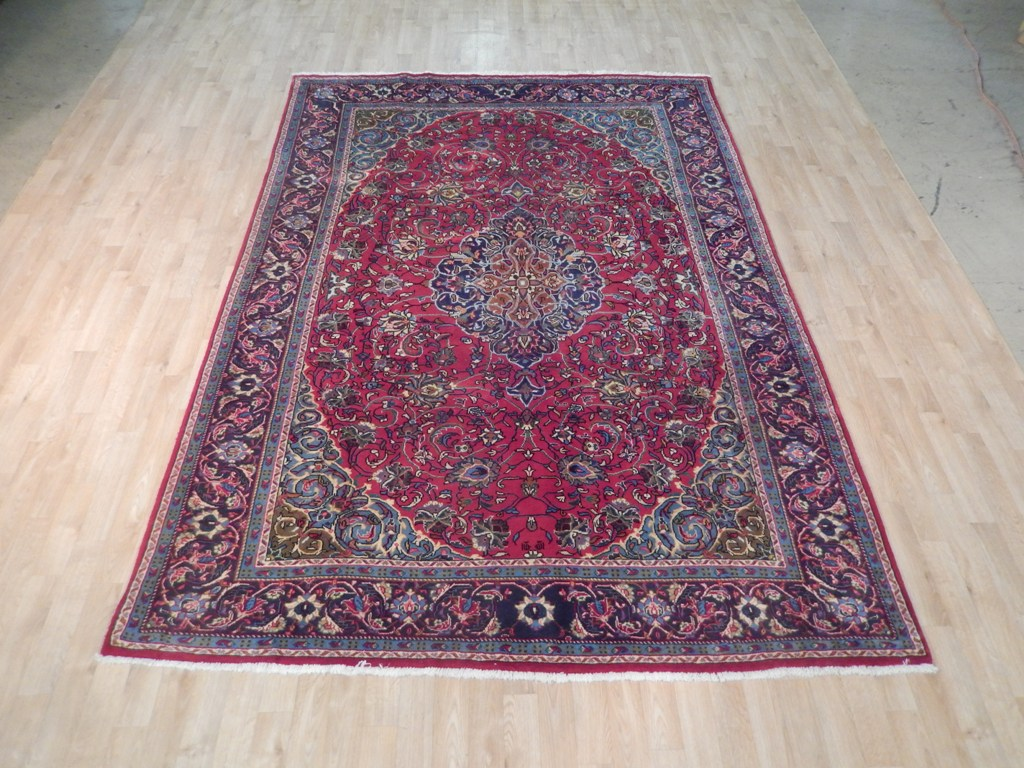 7' x 10' Hand Knotted  Persian Rug