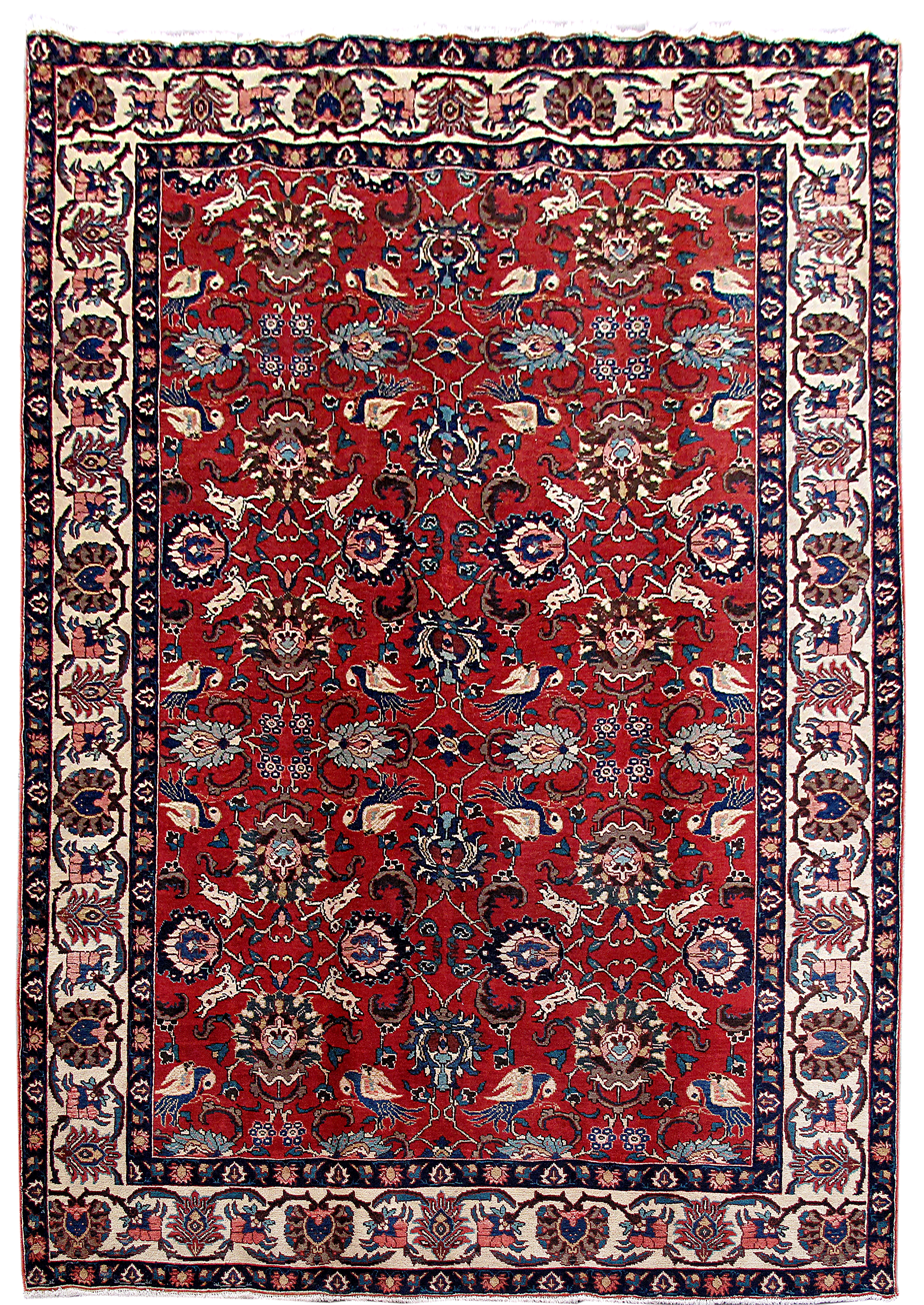 Image Is Loading Tabriz Khoy 100 Wool Living Room Hand Knotted